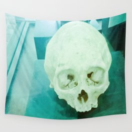 Skull historical Colombian. Wall Tapestry