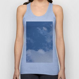 Clouds and Blue Sky Unisex Tank Top