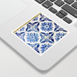 Portuguese tile 3 Sticker