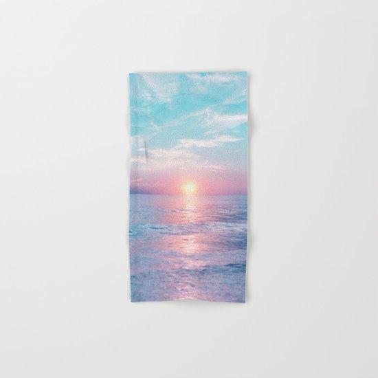 Pastel vibes 13 Hand & Bath Towel