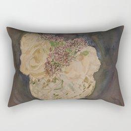 Flowers for the Kitchen Rectangular Pillow