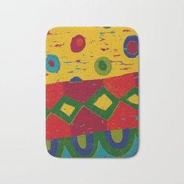 Reduction in colour Bath Mat