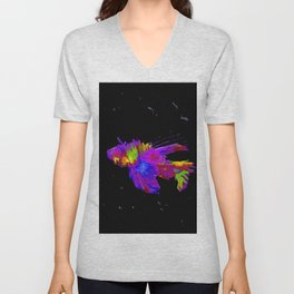 Lion Fish Unisex V-Neck