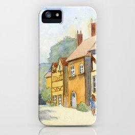 English Village in Color iPhone Case