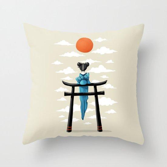 Torii Throw Pillow