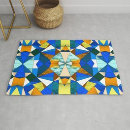 Kaleido Stained Glass Rug