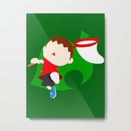 Super Smash Bros The Villager Metal Print