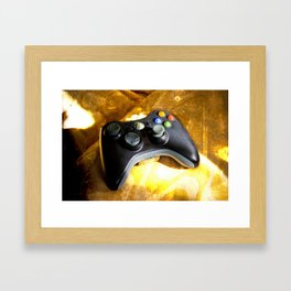 Let's Play A Game Framed Art Print