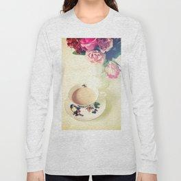 Roses and Chai Tea Long Sleeve T-shirt