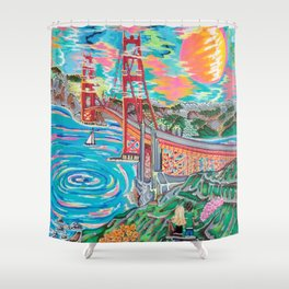 San Francisco Joe Shower Curtain
