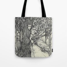 The Princess and her Tree Tote Bag