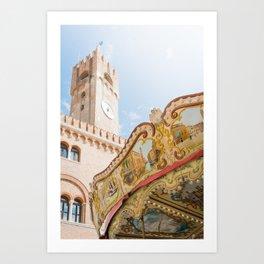 Venice in Trevise Art Print