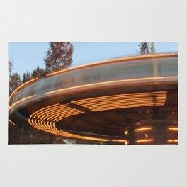 Carousel in motion Rug