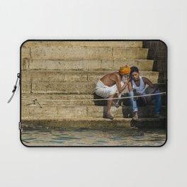 Varanasi, Ganges Laptop Sleeve