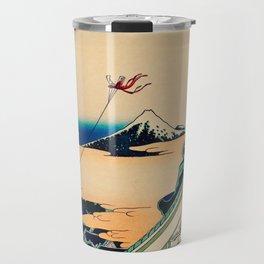 Katsushika Hokusai - Toto Asakusa Honganji Travel Mug