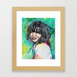 Karen Framed Art Print