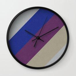 Dynamic Recording Video Cassette Palette Wall Clock