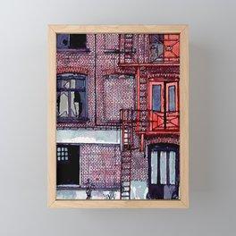 WAREHOUSE Framed Mini Art Print