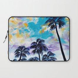 Oceanside Palm Trees Laptop Sleeve