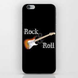 Rock and Roll Guitar iPhone Skin