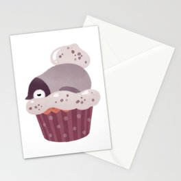 Cookie & cream & penguin Stationery Cards