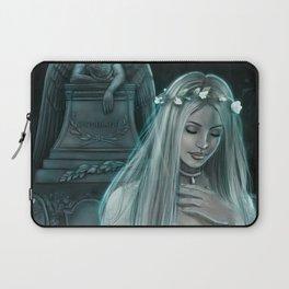 Silver Lady Laptop Sleeve
