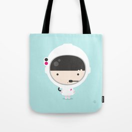 Miss Astronaut 1 Tote Bag