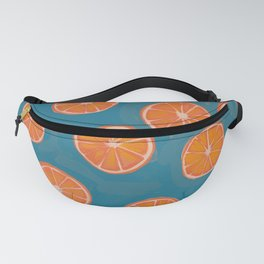 hand-painted california orange slices Fanny Pack