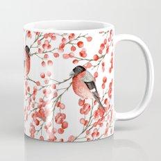 Bullfinch and red berries Mug
