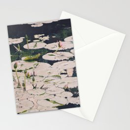 Water lilys Stationery Cards