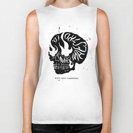 Skull Maestro Biker Tank