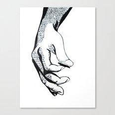 Lyrics Canvas Print