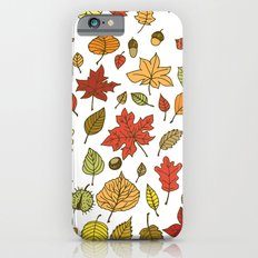 Autumn leaves, berries and nuts Slim Case iPhone 6