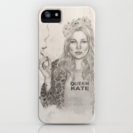 Queen Kate iPhone Case
