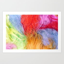 Troll hair Art Print