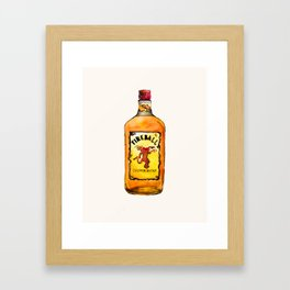 Fireball Framed Art Print