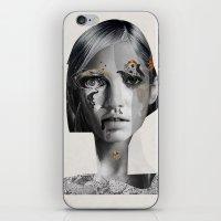 megan lara iPhone & iPod Skins featuring Lara by Zaneta Antosik