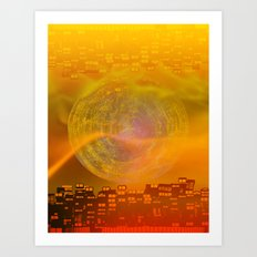 Atlante 15-06-16 / LIGHT Art Print