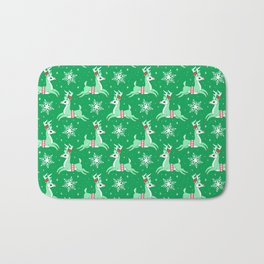 Mint Reindeer Bath Mat