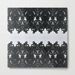 Tiles & Motifs - Nature's Lace Metal Print