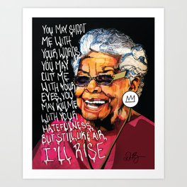Definition of Poetry Art Print