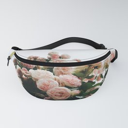 Climbing Roses at International Rose Test Garden Fanny Pack