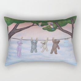 meadow fresh teddy bears Rectangular Pillow