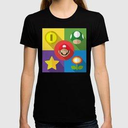 Super Mario flat T-shirt