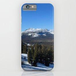 Mammoth Mountain California iPhone Case