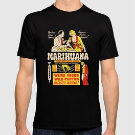 Weed With Roots In Hell T-shirt