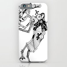 Steampunk Kokopelli Original Pen and Ink Design Slim Case iPhone 6s