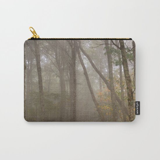 Misty Spruce Knob Forest Carry-All Pouch