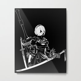 Automata Metal Print