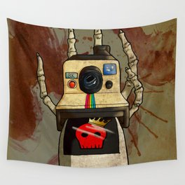 Vintage Polaroid Wall Tapestry